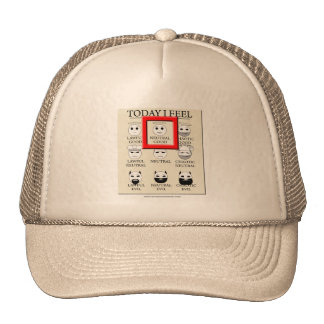 Today I Feel Neutral Good Trucker Hat