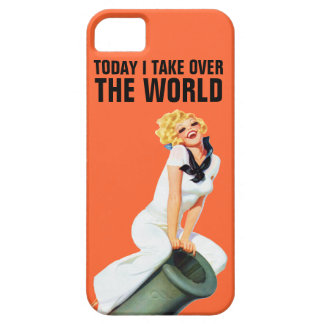 Today I Take Over The World iPhone 5 Cover