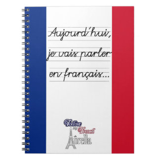 Today I'm going to speak in French 1- Large Notebooks