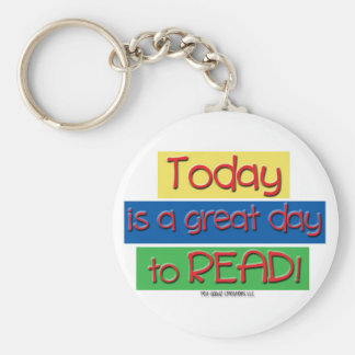 today is a great day to read keychain