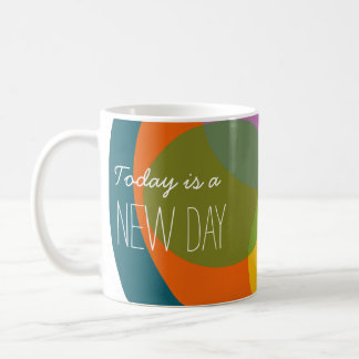 Today is a New Day Colorful Fashionable Mug