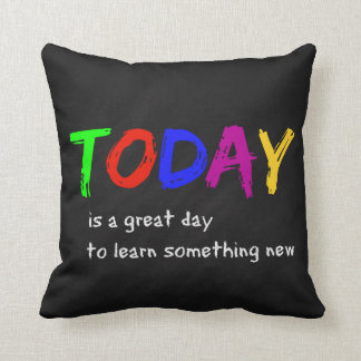 Today Throw Pillow