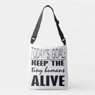 Today's Goal Over the Shoulder Bag