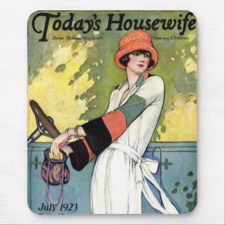 Today's Housewife Mouse Pad
