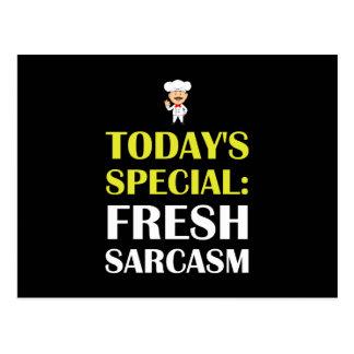Todays Special Sarcasm Postcard