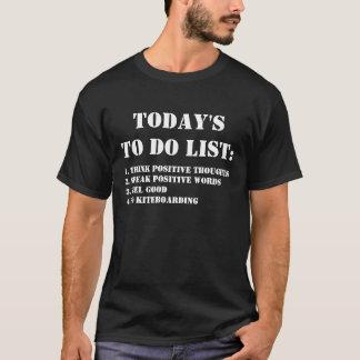Today's To Do List: Go Kiteboarding T-Shirt