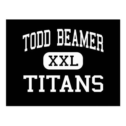 Todd Beamer - Titans - High - Federal Way Postcard