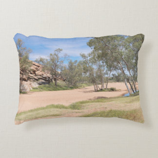 Todd River and Barron Gorge Decorative Pillow