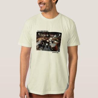 "Todd Sucherman ""Driver's Seat"" Organic Cotton T T-Shirt"