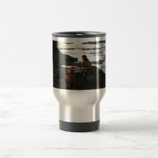 "Todd Sucherman ""Methods & Mechanics"" travel Mug"