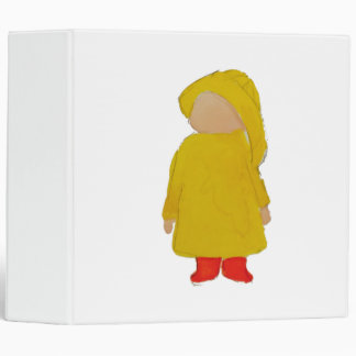 Toddie Time April Showers Rainy Day Toddler 3 Ring Binders