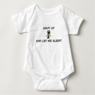 TODDLER 3-SNAP BOTTOM OUTFIT SLEEPY TIME BABY BODYSUIT
