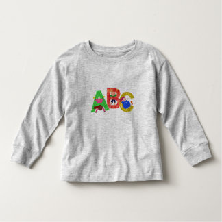 Toddler ABC's Shirt is Early Learning Fun