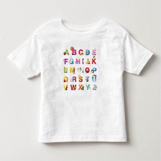 toddler alphabet t-shirt