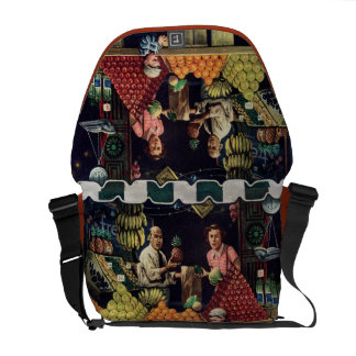 Toddler and Oranges Courier Bags