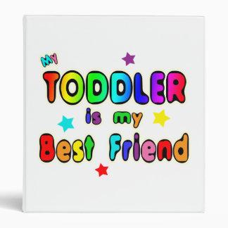 Toddler Best Friend 3 Ring Binder