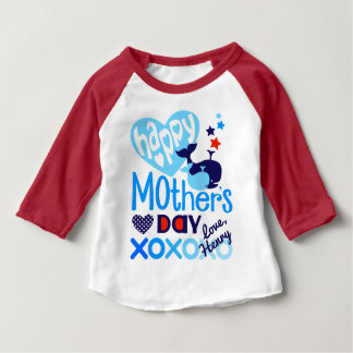 Toddler Boy Happy Mothers Day Shirt Gift from Son