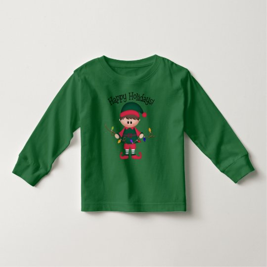 Toddler boys Christmas elf t-shirt