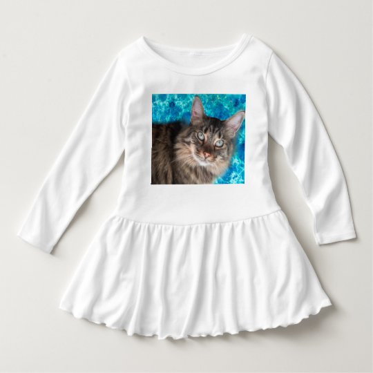 Toddler cat dress