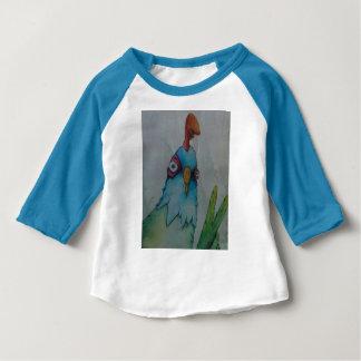 toddler chicken baseball t-shirt