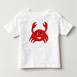 Toddler Clothes - Happy Crab Shirt