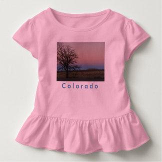 Toddler Colorado Ruffle Tee