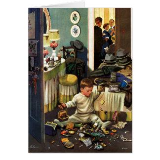Toddler Empties Purses Card