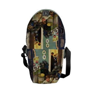 Toddler Empties Purses Courier Bag