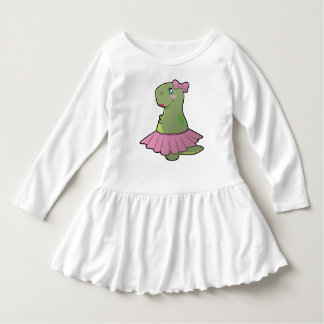 Toddler Girls Dinosaur T-Rex Dress