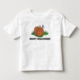 Toddler Halloween Pumpkin Shirt