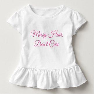 Toddler, Messy Hair Toddler T-shirt