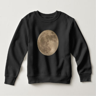 Toddler Moon Shirt Full Moon Baby Sweatshirt