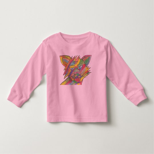 Toddler Pink Long Sleeve T-shirt