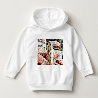 Toddler Pull Over Hoodie - Charlie Ground Squirrel