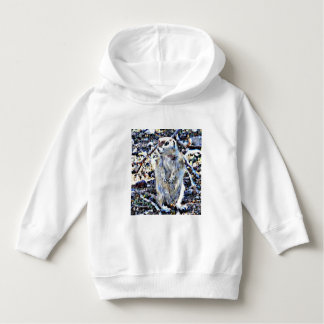 Toddler Pull Over Hoodie - Rainy Day Squirrel