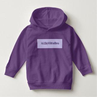 Toddler Purple Pullover Hoodie