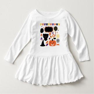 Toddler ruffle dress / Halloween