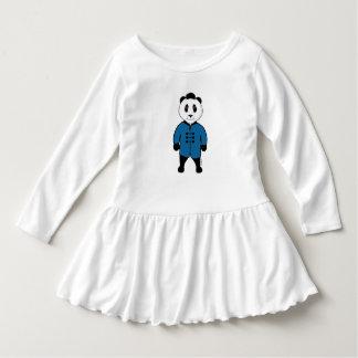 Toddler Ruffle Dress of Kungfu Panda by Mahieu