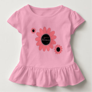 Toddler Ruffle T-Shirt - Blooming