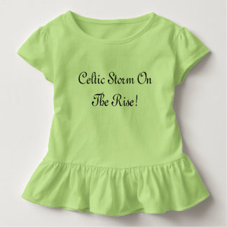 Toddler Ruffle Tee Irish Dance