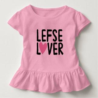 Toddler Ruffle Tee LEFSE LOVER