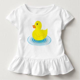 Toddler Ruffle Tee Rubber Duck