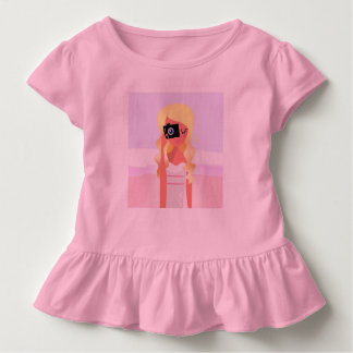 Toddler ruffle tee : with Photographer girl