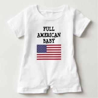 Toddler Shirt Saying Full American Baby