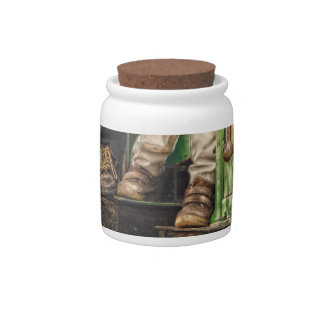 Toddler Shoes Candy Jar