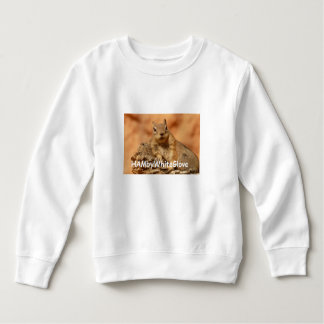 Toddler Squirrel HambyWhiteGlove Fleece Sweatshirt