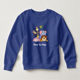 Toddler Sweatshirt--Jungle Animals Sweatshirt