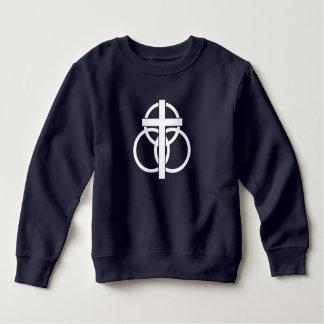 Toddler Sweatshirt: Modern Logo Sweatshirt