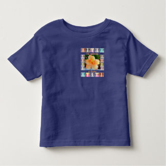 Toddler T-Shirt, Hawaiian Tapestry Design Toddler T-shirt