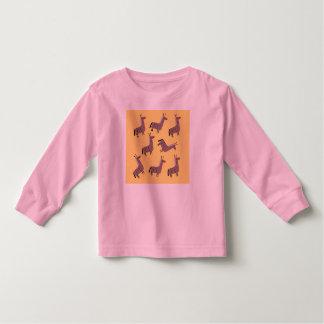 Toddler t-shirt lamas